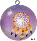 Dreamcatcher ball ornament can be used yar round and makes an ideal housewarming, wedding or friendship gift.