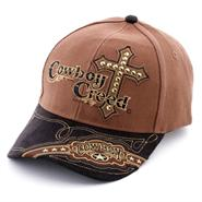 Cowboy Creed Baseball Cap from Silver Hills Trading Co in Tombstone, Arizona