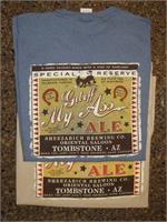 Get off my Ass Ale tshirt with mule from Tombstone, Arizona