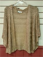 Sparkle knit sweater in plus size sweater.