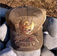 Western design ball cap from Tombstone, AZ
