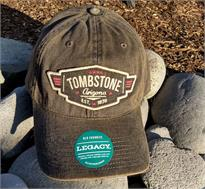 Vintage style cap with Tombstone, AZ on the front.
