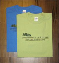 Tombstone, Arizona Established 1879 100% cotton T-shirt